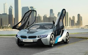 Появились новые подробности о BMW i8