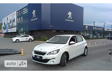 Peugeot 308 1.6 HDi МТ (92 л.с.) Active 2016