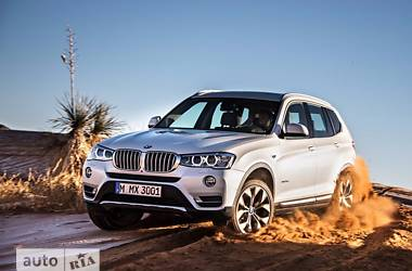 BMW X3 sDrive20i AT    2016