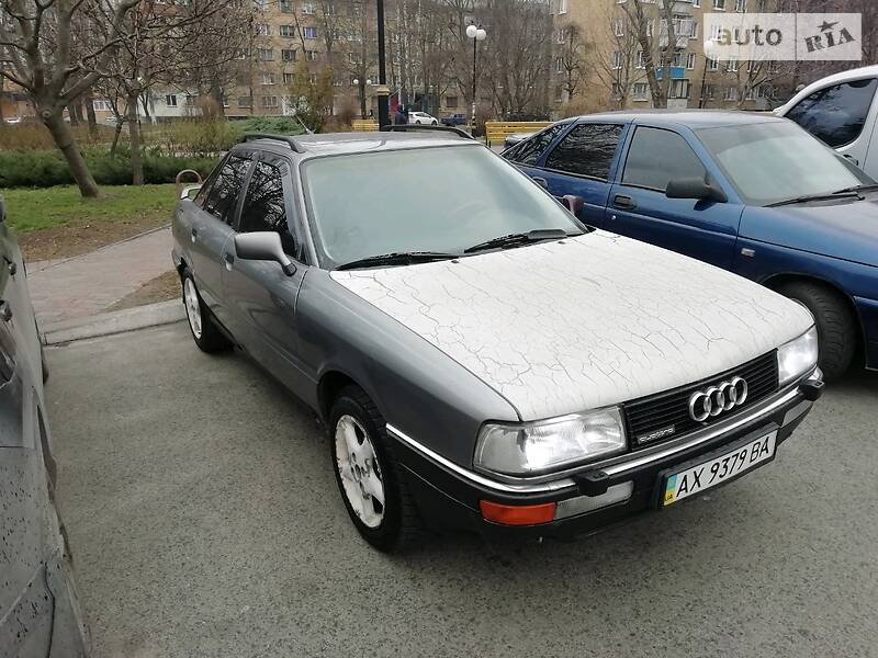 AUTO.RIA – Продам Audi 90 1990 газ/бензин 2.3 седан бу в Броварах, цена 2000 $