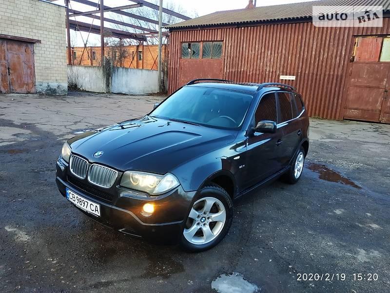 AUTO.RIA – Продам BMW X3 2008 дизель 3.0 позашляховик / кроссовер бу у Чернігові, ціна 11800 $