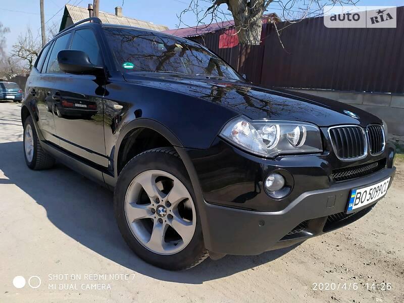 AUTO.RIA – Продам BMW X3 2010 дизель 2.0 позашляховик / кроссовер бу у Кременці, ціна 12700 $