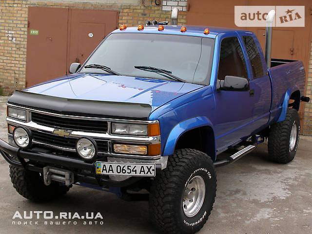 Auto Ria Prodam Shevrole Silverado 1995 Dizel 6 5 Pikap Bu V Kieve