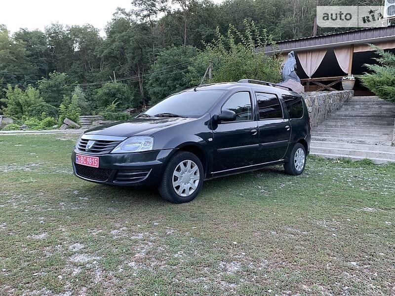 Dacia Logan MCV LAUREAT 7mest 2011 2011