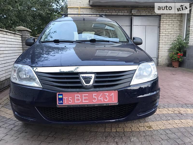 Dacia Logan MCV 1600mpi 2012