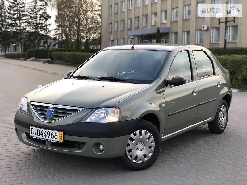 Dacia Logan 1.6MPI A/C 2006