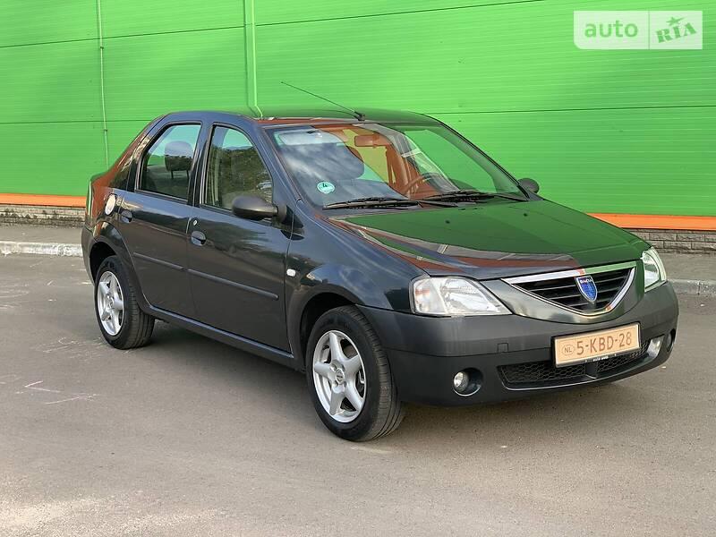 Dacia Logan LAUREAT 88 probeg 2008