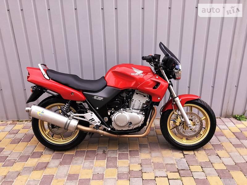Autoria продам хонда цб 1999 бензин 500 мотоцикл классик бу в
