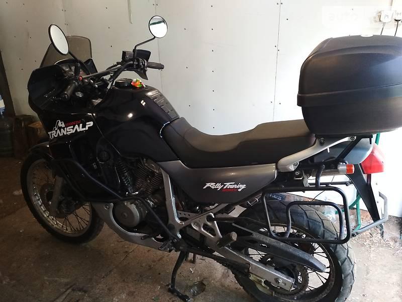 Autoria продам хонда трансалп 1999 бензин 600 мотоцикл туризм бу