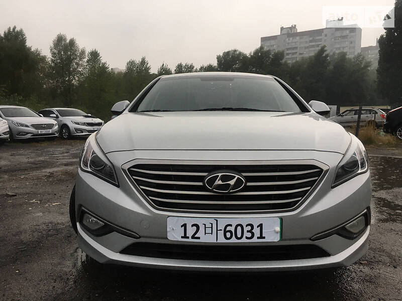 Hyundai Sonata LPI LF 2015