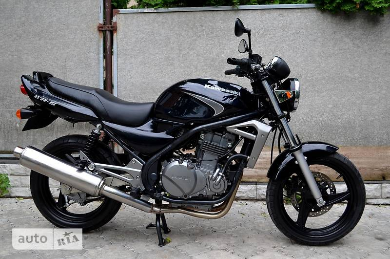 Autoria продам кавасаки ер 2006 500 мотоцикл без обтекателей