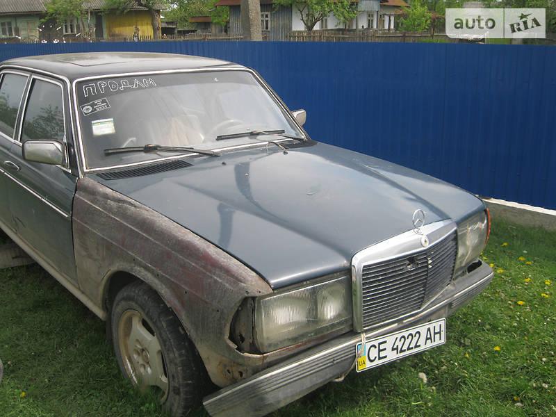 Auto ria 200 d 1981 555 for Mercedes benz 555