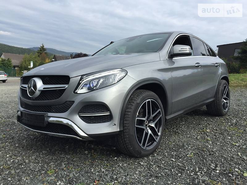 Auto ria d 4matic coupe 2016 for Mercedes benz gle class