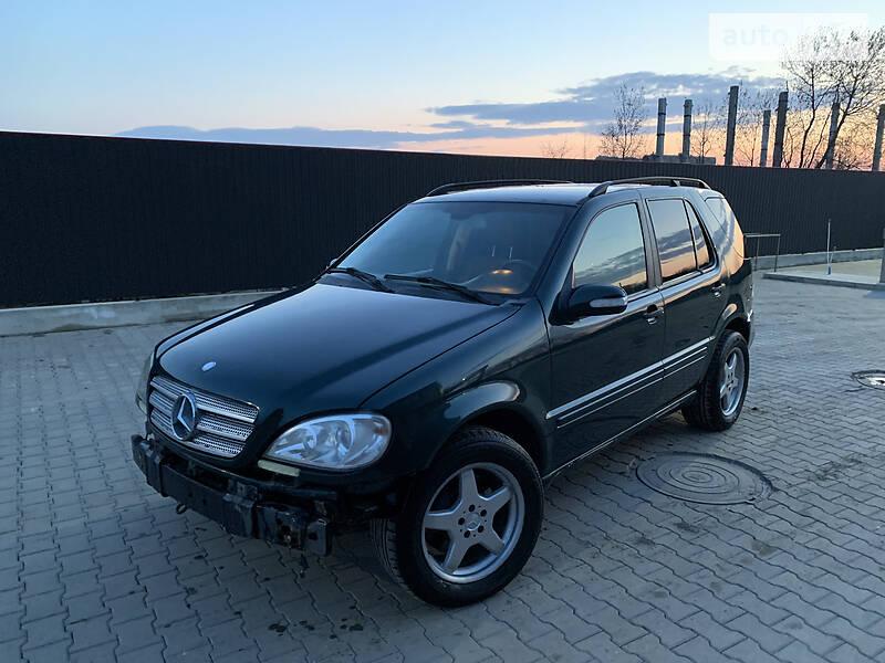 AUTO.RIA – Продам Mercedes-Benz ML 270 2004 дизель 2.7 позашляховик / кроссовер бу у Бучачі, ціна 2800 $