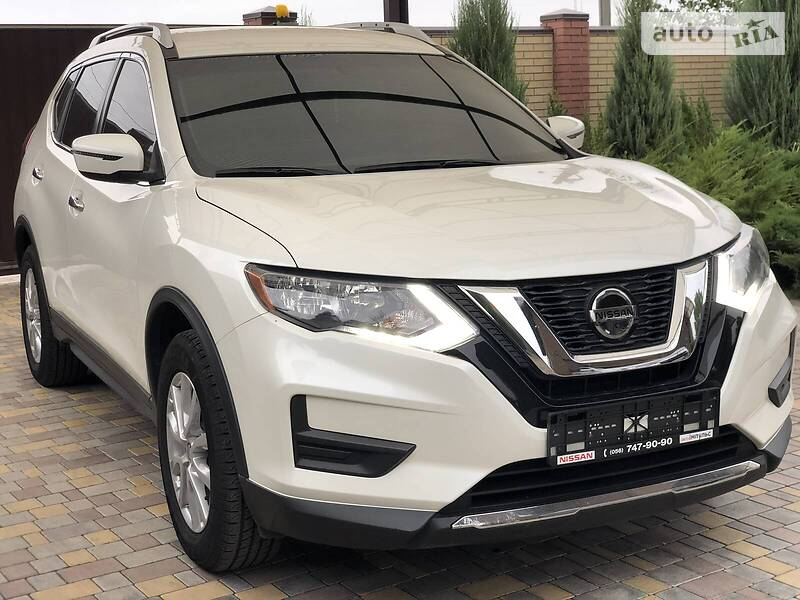 Nissan Rogue SVawd CLIMATE  2018