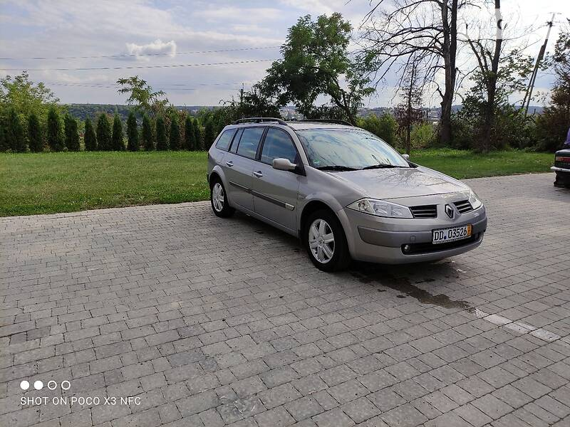 Renault Megane Svihsa 2004