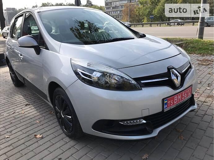 Renault Scenic 81KW. 6ст КПП 2014