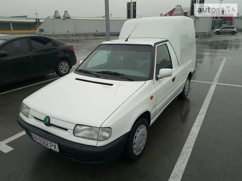 skoda felicia 1999 фургон фильтра