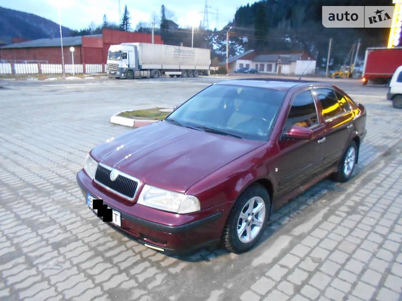 skoda octavia седан 1998
