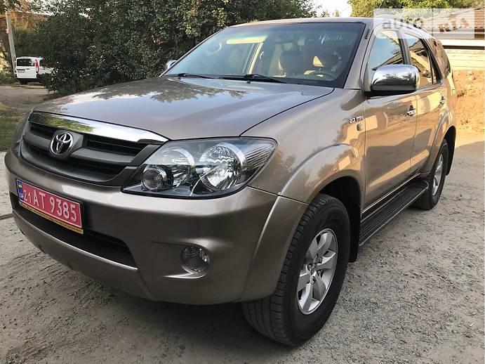 AUTO RIA – Продам Тойота Фортунер 2008 газ/бензин 2 7 внедорожник