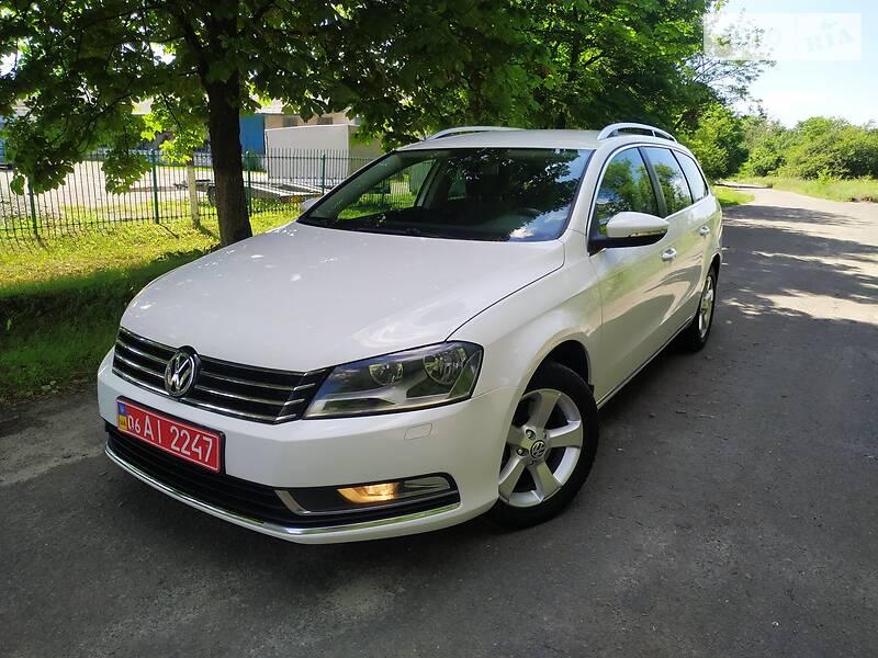 Volkswagen Passat B7 Заводський газ 2011