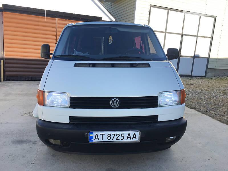 AUTO.RIA – Продам Volkswagen T4 (Transporter) пасс. 1997 дизель минивэн бу в Яремче, цена 3700 $