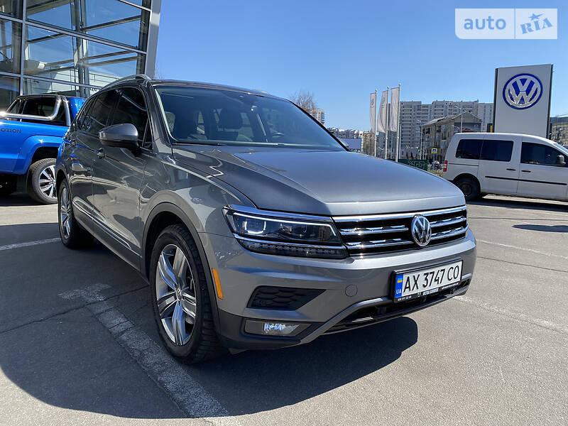 Volkswagen Tiguan Allspace SEL+premium  2018