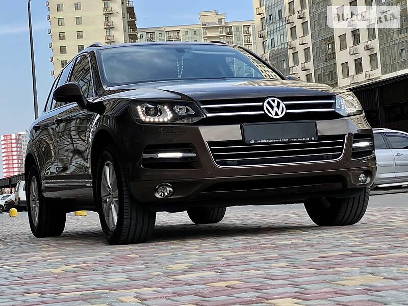 AUTO.RIA – Продам Volkswagen Touareg 2013 дизель 3.0 внедорожник / кроссовер бу в Одессе, цена 27777 $