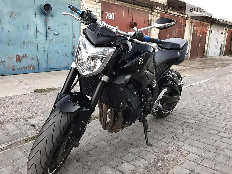 Yamaha Fazer-S 600 Black 2007 - YouTube