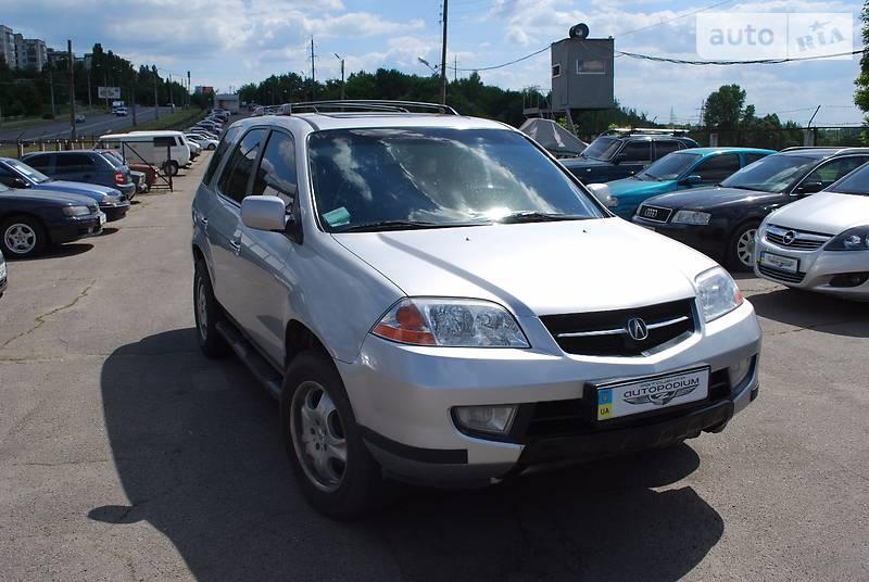 Acura MDX 2002 года