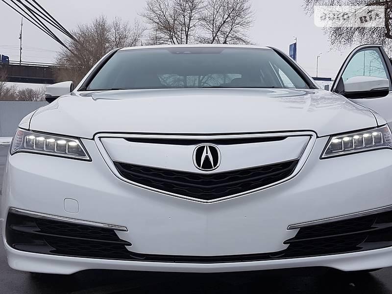 Acura TLX 2016 года