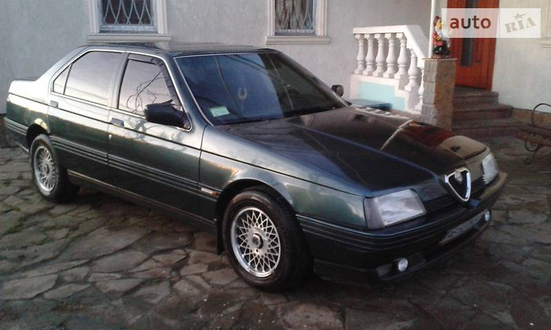 Alfa Romeo 164 1990 года