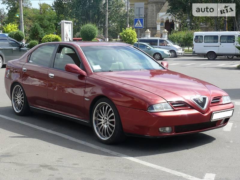 Alfa Romeo 166 2000 року