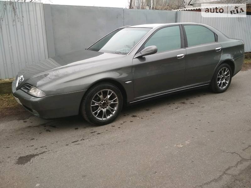 Alfa Romeo 166 1999 года