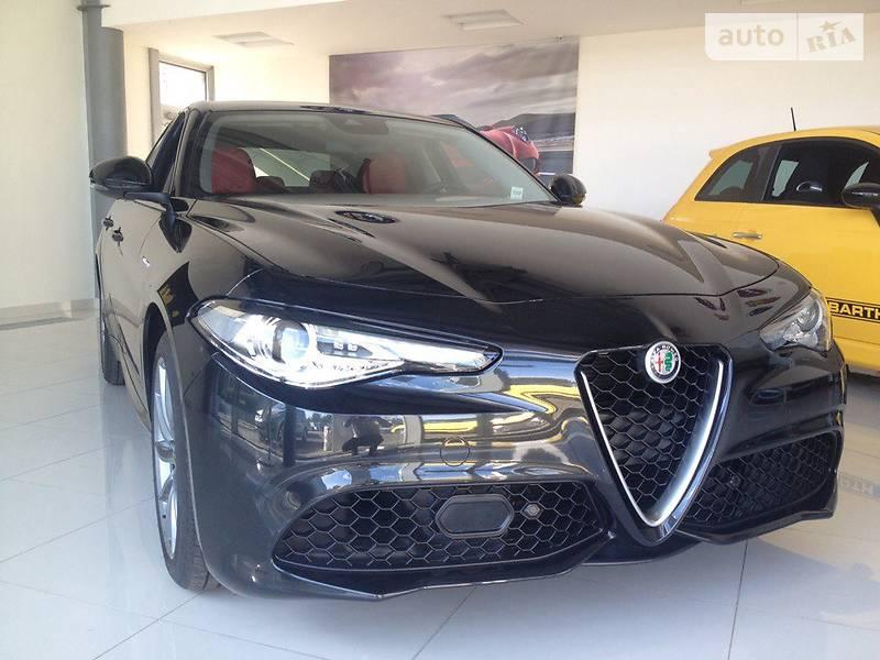 Alfa Romeo Giulia 2016 года