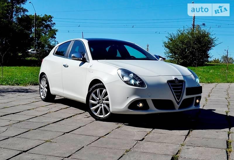 Alfa Romeo Giulietta 2014 года