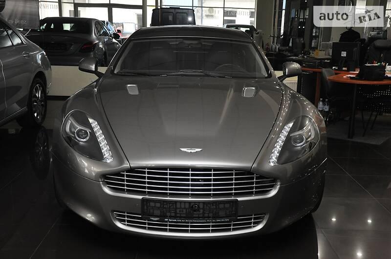 Aston Martin Rapide 2011 года