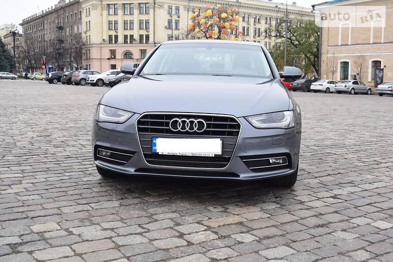 Audi A4 2013 года
