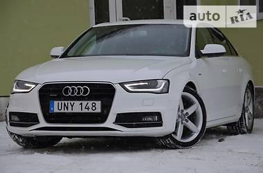 Audi A4 S-Line QUATTRO 2015