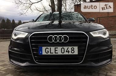 Audi A6 2.0 s line ultra 190 2014