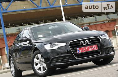 Audi A6 Official.Restyling 2013