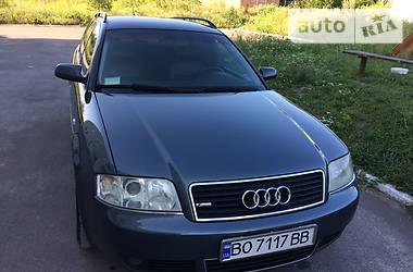 Audi A6 S-Line 2002
