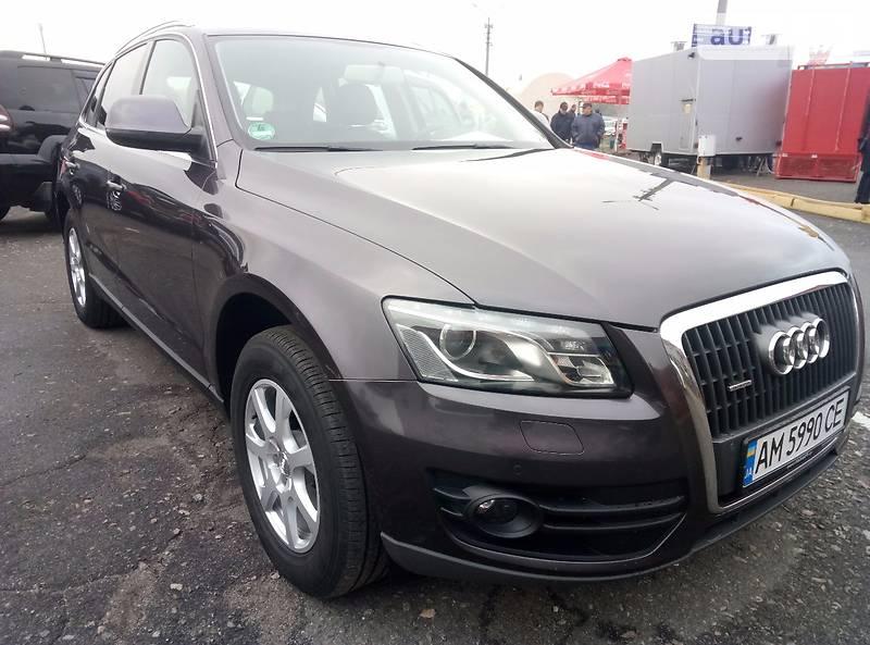 Audi Q5 2011 года