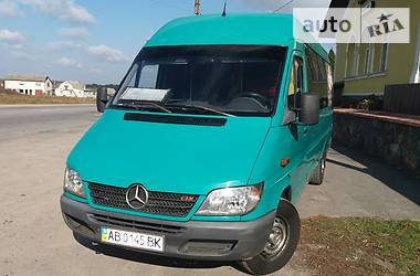 Характеристики Mercedes-Benz Sprinter 313 пасс. Автобус