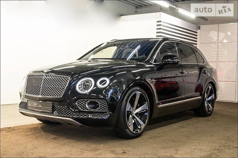 Bentley Bentayga 2017 года