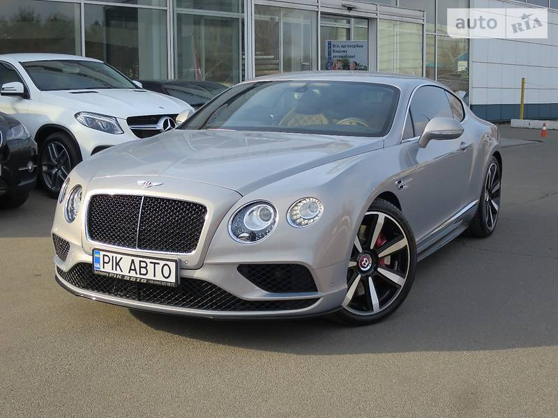Bentley Continental GT V8 S 2016 року