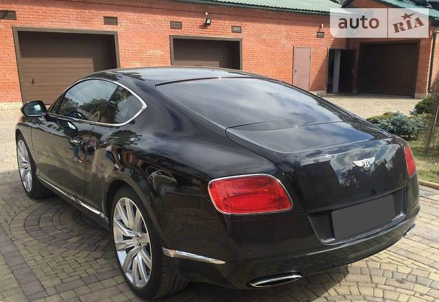 Bentley Continental GT V8 2013 года