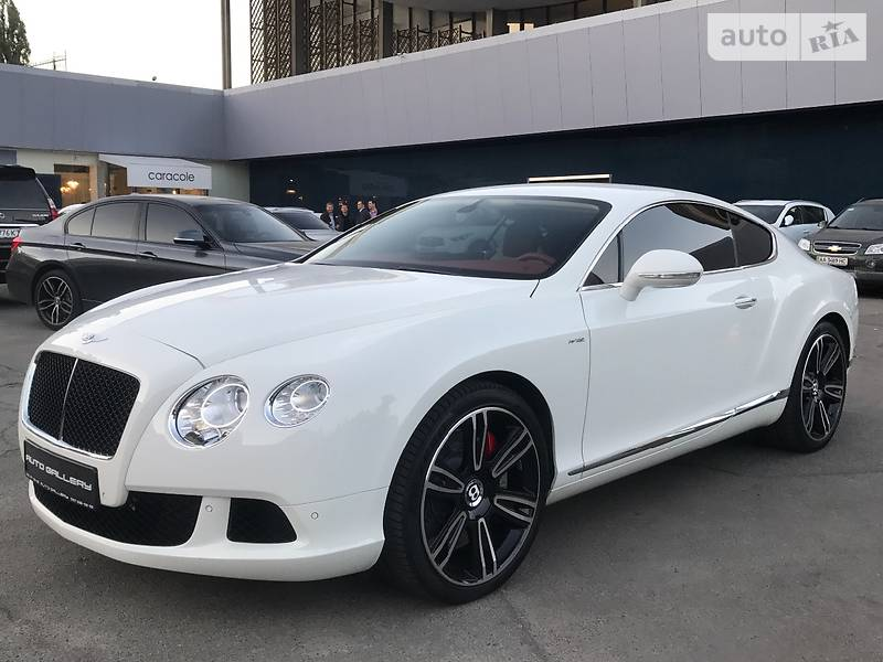 Bentley Continental GT 2014 року