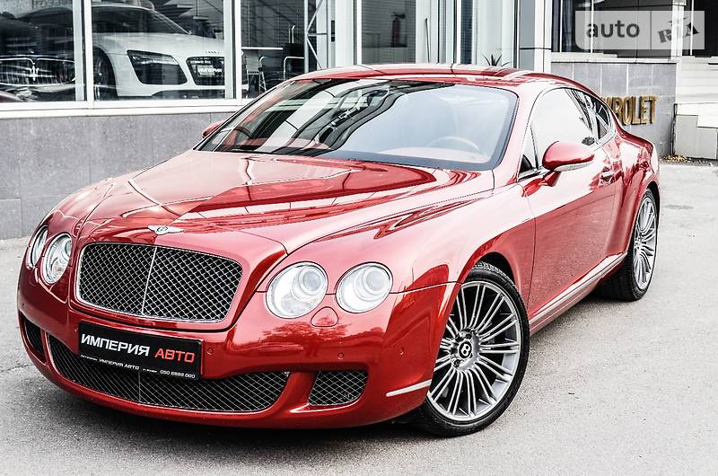 Bentley Continental GT 2008 року