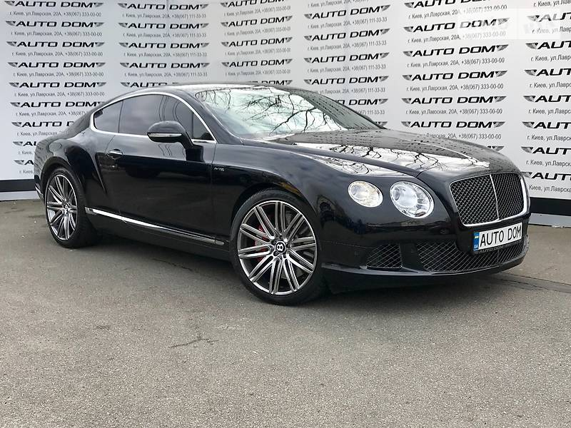 Bentley Continental GT 2013 года